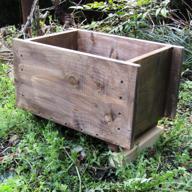 099H291 手作り木製 プランター1