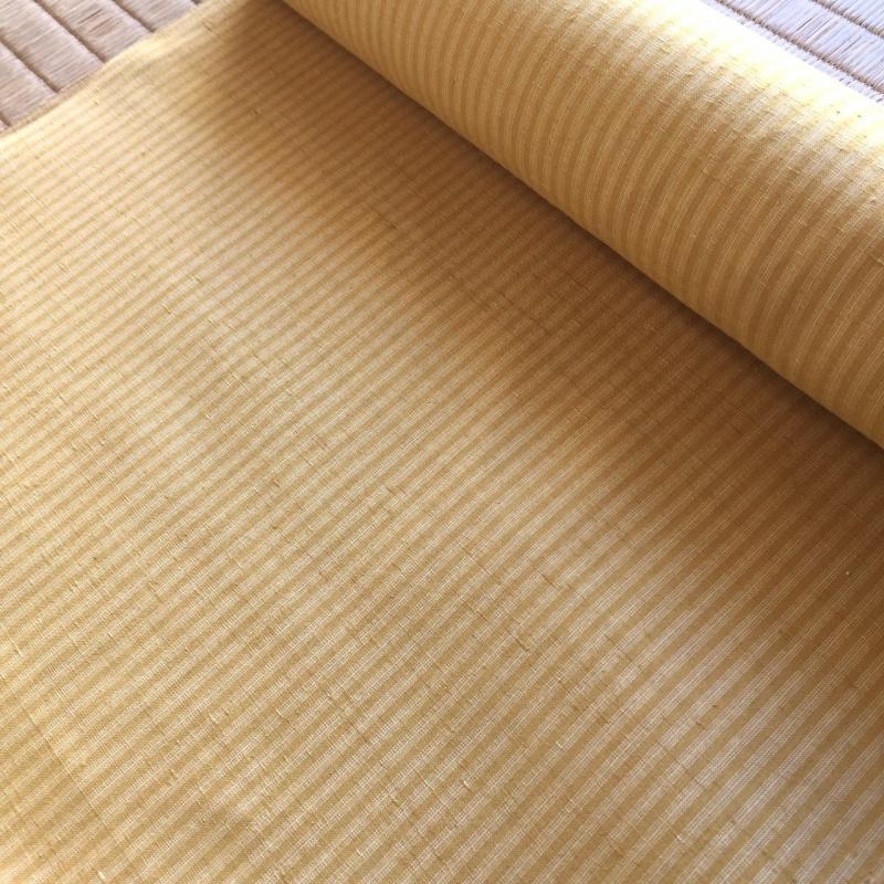 G034 泉州玉ねぎで染めたオリジナル三才山紬