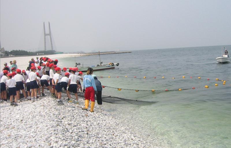 099H105 海鮮バーベキュー&地引網漁業体験(50名)
