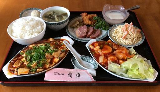 099H136 四川家庭料理「蘭梅」四川麻婆料理ペアセット