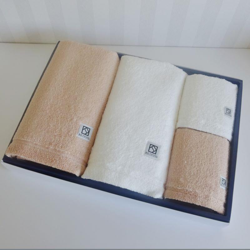 030D002 エジプト綿「ナイル」タオルセット