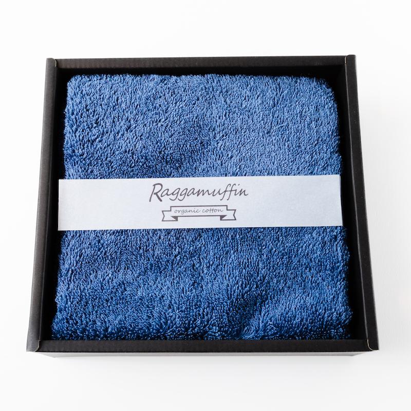099H244 Raggamuffin(フェイスタオル:ネイビー1枚)