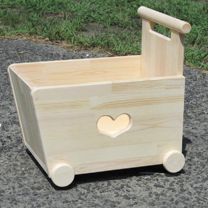 099H077 手作り木製 手押し車 片面透かし1型