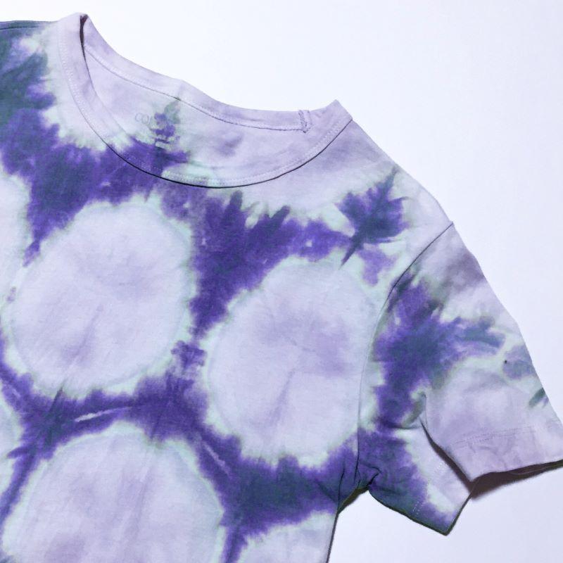 099G012 呉服店で絞り染め体験 4名様(Tシャツ、風呂敷、ストールのいずれか)