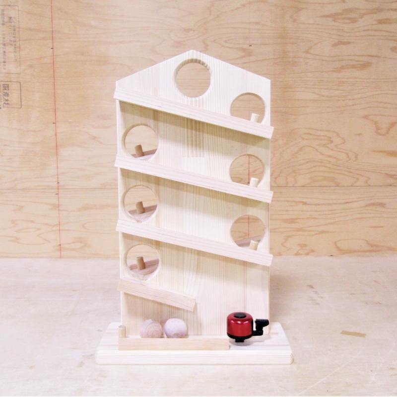 099H369【クリスマス対応】手作り木製 クーゲルバーン