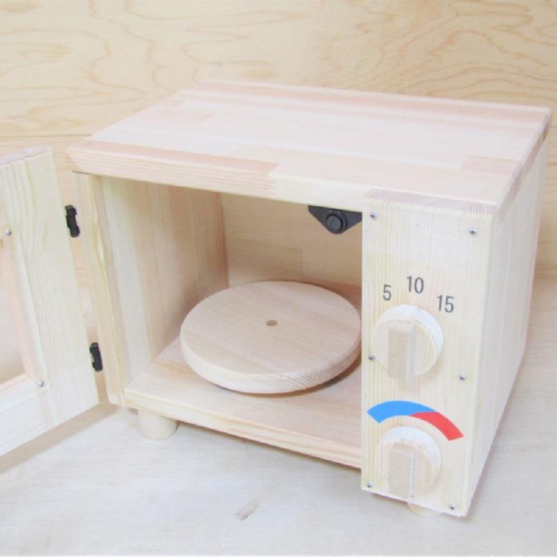 099H075 手作り木製 オーブンレンジ