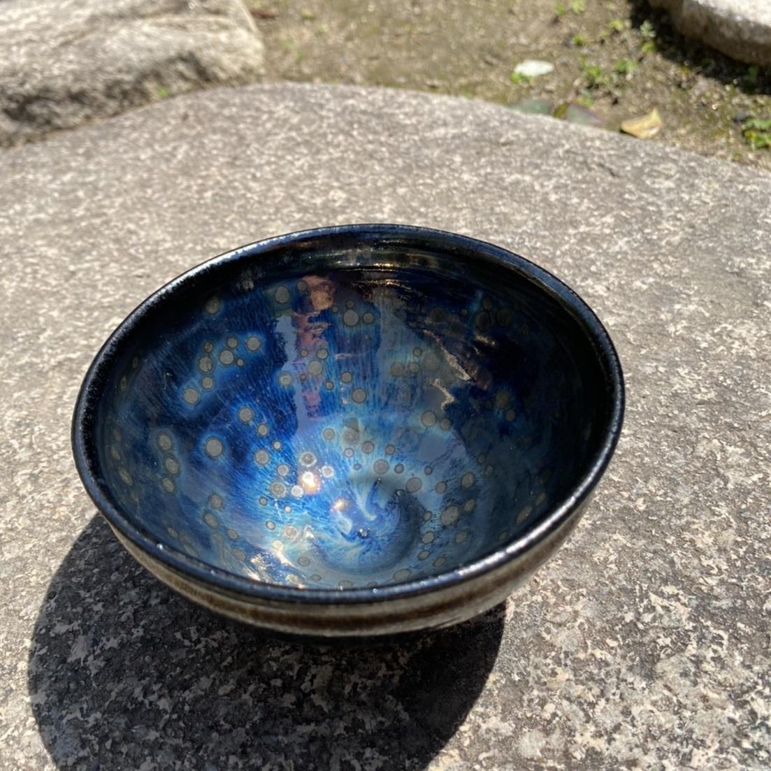 099H263 「焼き物」曜変天目茶碗