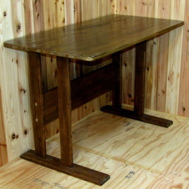 099H162 手作り木製 ダイニングテーブル