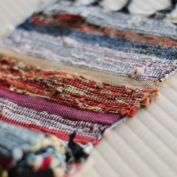 G033 呉服店で裂き織り体験2名様+アトリエ(機織り機)のタイムシェア(1か月間)
