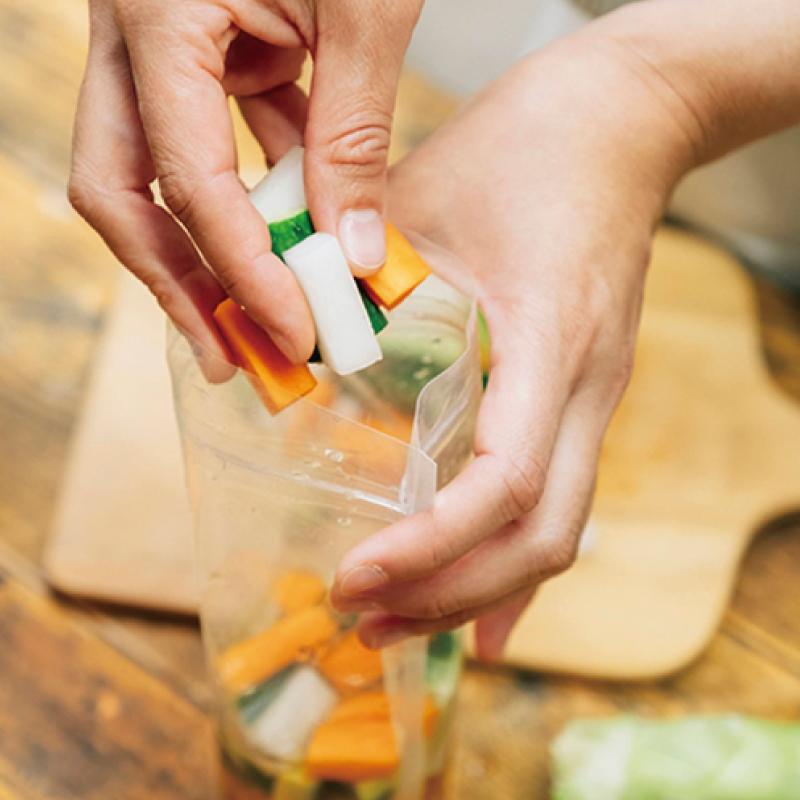 099G072 ご自宅でかんたん!ピクルスの素+旬の泉州野菜(お得な5個セット・6か月+1か月をサービス)