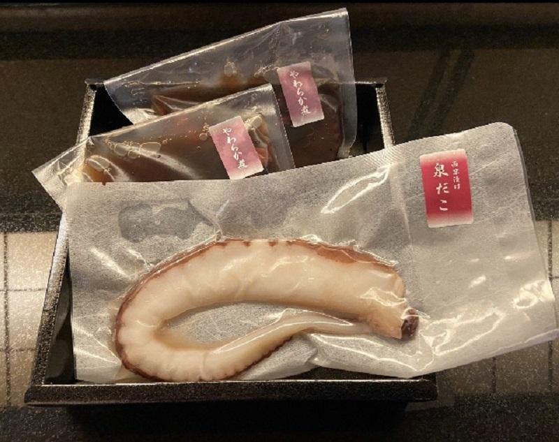 010B227 泉州海の幸 泉だこ西京漬けとやわらか煮