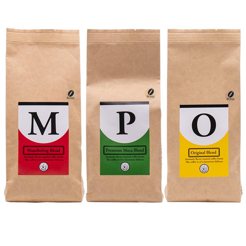 005A104 レギュラーコーヒー200g3袋セット/豆