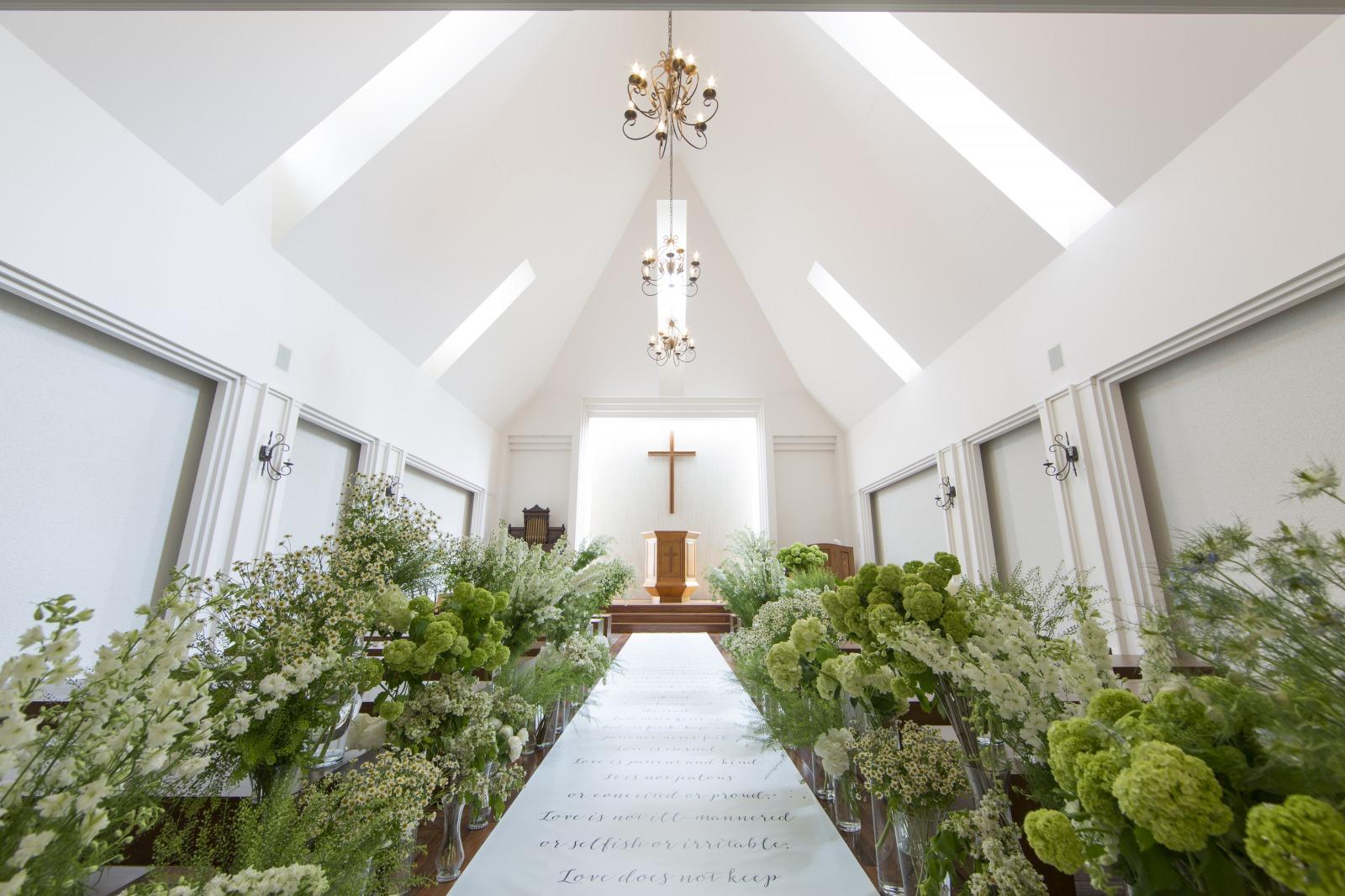 099H055 木の教会 本格教会式 挙式プラン