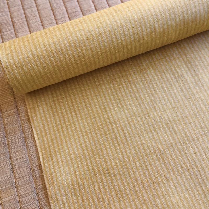 099H127 泉州玉ねぎで染めたオリジナル三才山紬