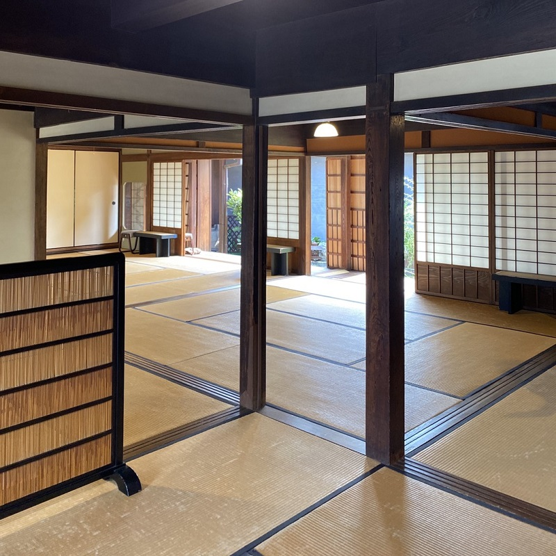 005A106 さの町屋で江戸文化を楽しむ 町屋でお抹茶付入館ペア券