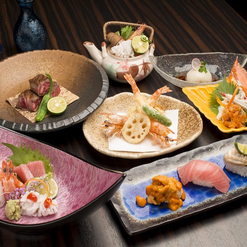 050E005 日本料理コースペアチケット
