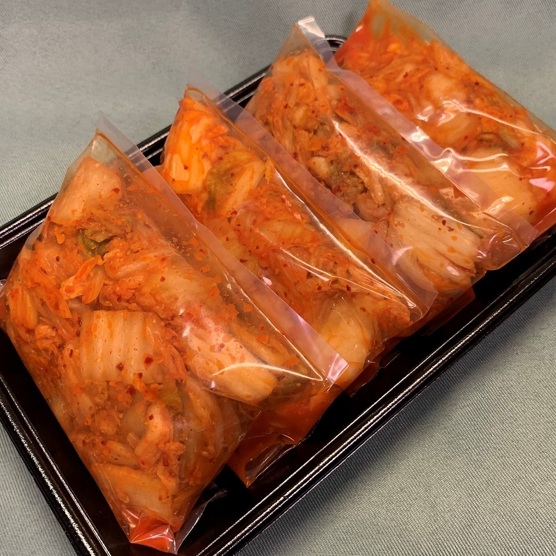 010B314 白菜キムチ2kg(500g×4袋)