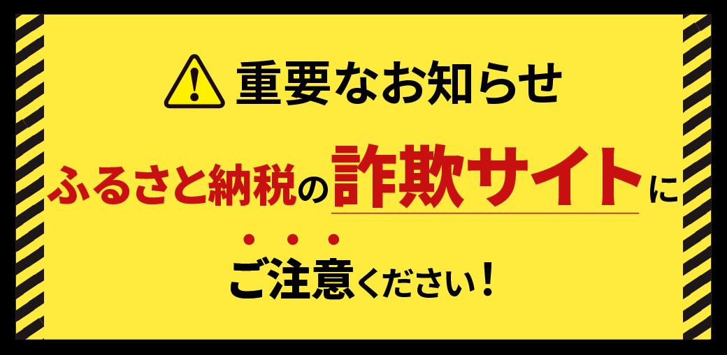 「泉佐野市ふるさと納税」をうたう詐欺サイト・模倣サイトにご注意ください!